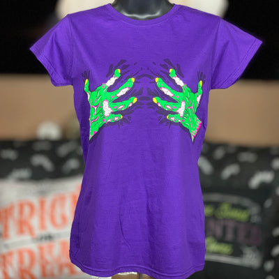 Zombie Hands For Her - Haunt Shirts