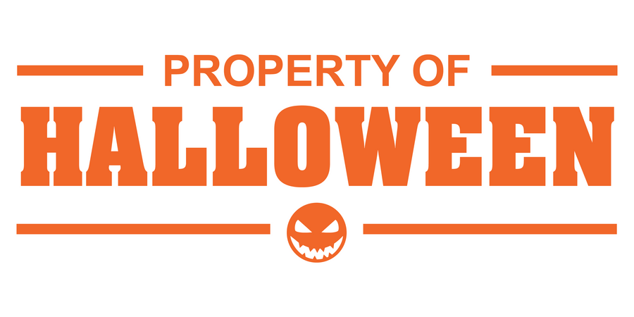 Property of Halloween Decal - Haunt Shirts