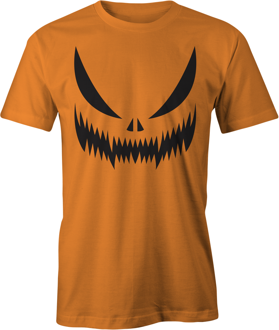 Pumpkin Face 17' - Haunt Shirts