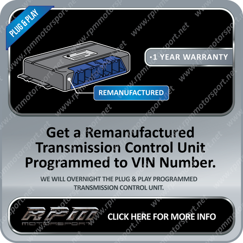 BMW RE-MANUFACTURED TRANSMISSION MODULES (1 YEAR WARRANTY)