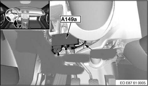 DME / CAS Removal Instructions on a BMW E90 E92 E93 (3 Series from