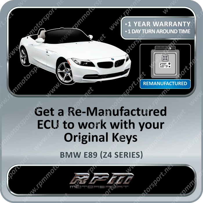 BMW E89 (Z4 Series) MSD81 Re-Manufactured ECU 01/2008 to 08/2016