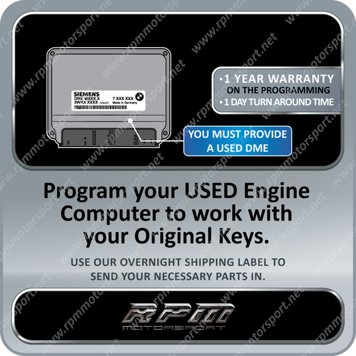 BMW E60 5 Series MS45.0 / MS45.1 USED DME / ECU programming