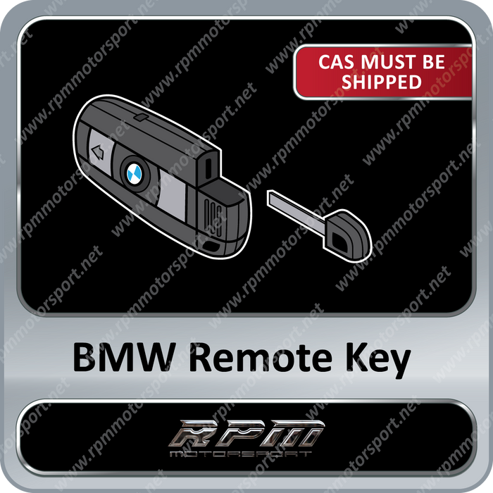BMW E63 E64 650i M6 Remote Key 2006 to 2010