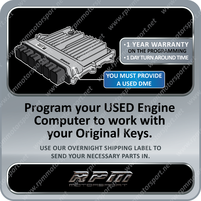 BMW F-SERIES DME 8.4.1 USED ECU Programming B46 B48 Engine (2015 - 2019)