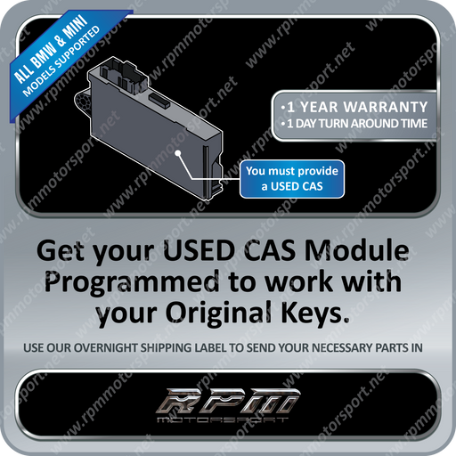 BMW / MINI CAS3 Module USED Programming Service (All Models Supported)