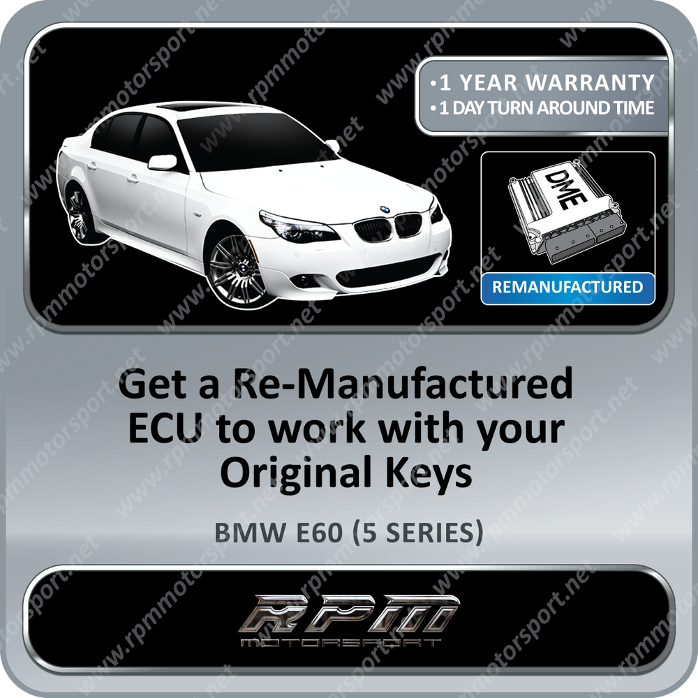 BMW E60 (5 Series) M5 MSS65 Re-Manufactured ECU 05/2003 to 12/2009