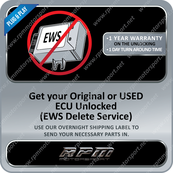 BMW UNLOCKING DME Programming Service E34 Z3 E36 E38 E39 - No EWS 2 Required!