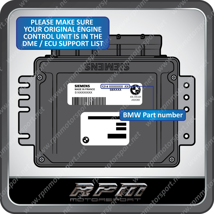 BMW / MINI Unlocked DME with EWS 3.3 or 4.3 - Plug & Play (Ready to Ship)