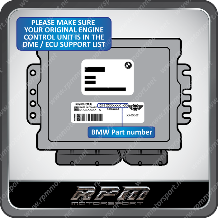BMW / MINI Unlocked DME Programming Service. No EWS 3.3 or 4.3 Required!