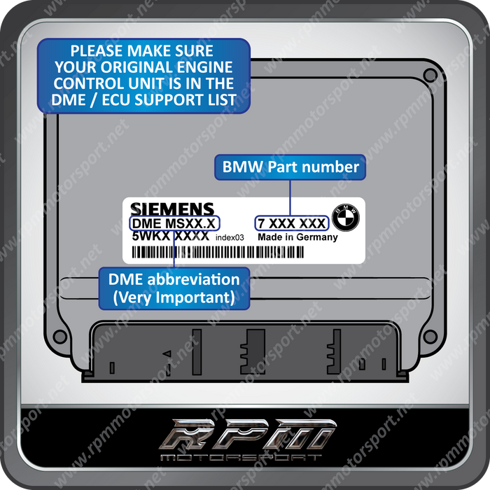 BMW MS45.0 / MS45.1 ECU Repair (DME RAM Checksum Error)