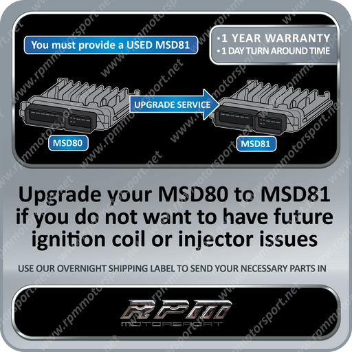 BMW MSD80 to MSD81 ECU DME Upgrade Service 08/2006 to 08/2008