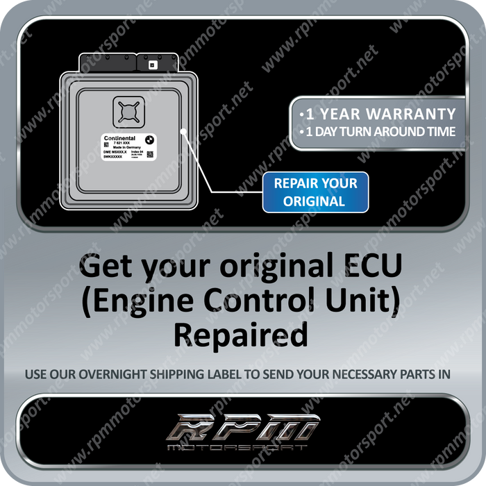 BMW E83 (X3 Series) MSV80 / MSV80.1 2F4A interface EWS DME code Repair