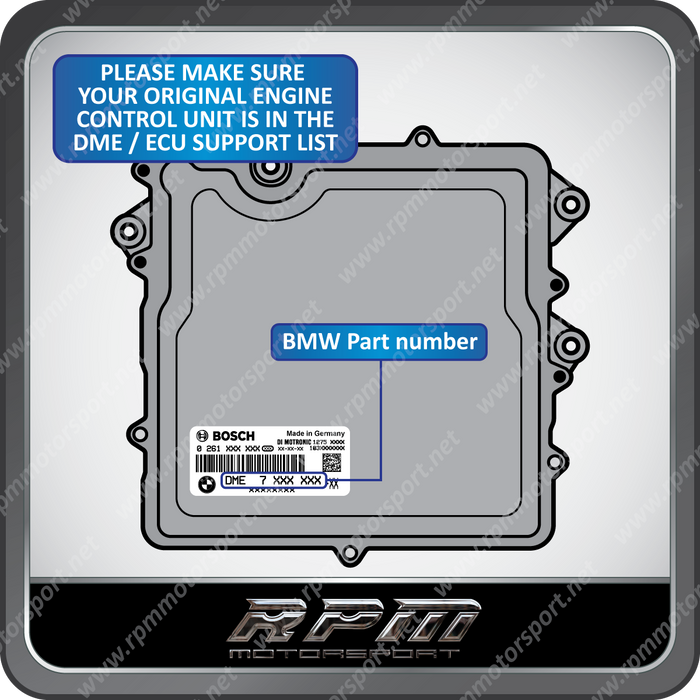 BMW E-Series N55 N20  MEVD172X A102 immobilizer anti tampering protection