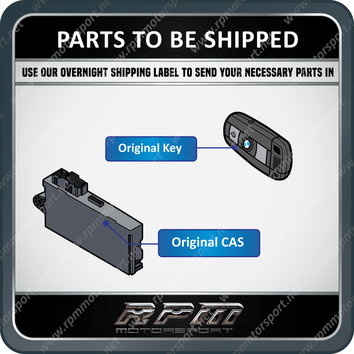 BMW CAS3 Module Repair Service (All BMW Models Supported)
