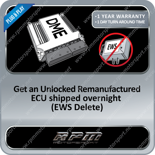 BMW UNLOCKED DME ECU E36 E38 E39 (No EWS Required - Plug