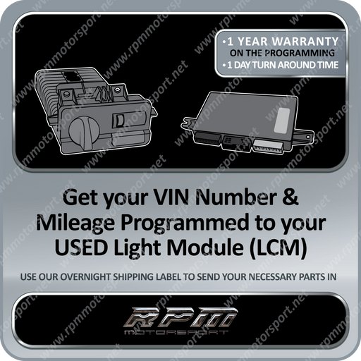BMW E46 E38 E39 X5 USED LCM VIN Number & Mileage Programming