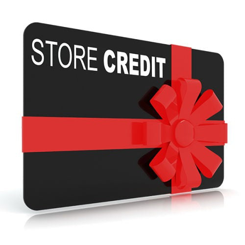 Store credit for USED Programming Service items