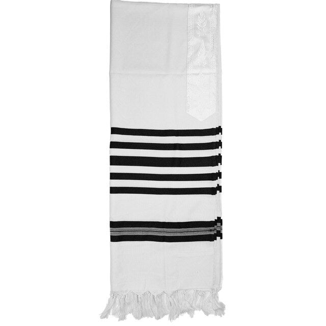 Jewish Wool Tallit - Prayer Shawl Scarf Men Women 140x180cm | Shop Latest Jewelry Accessories | Judelry.com