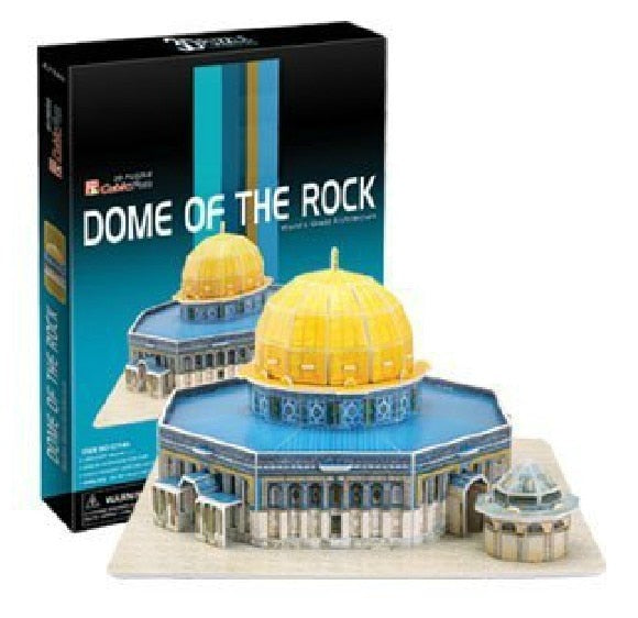 3D models toy paper model jigsaw game Jerusalem Mosque c714h | Shop Latest Jewelry Accessories | Judelry.com