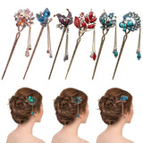 Women Elegant Bobby Pin Colorful - Hairpins | Shop Latest Jewelry Accessories | Judelry.com