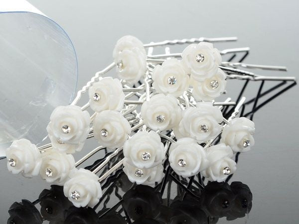 Hair Pins -  Fake Pearl - Elegant - 20 pcs | Shop Latest Jewelry Accessories | Judelry.com