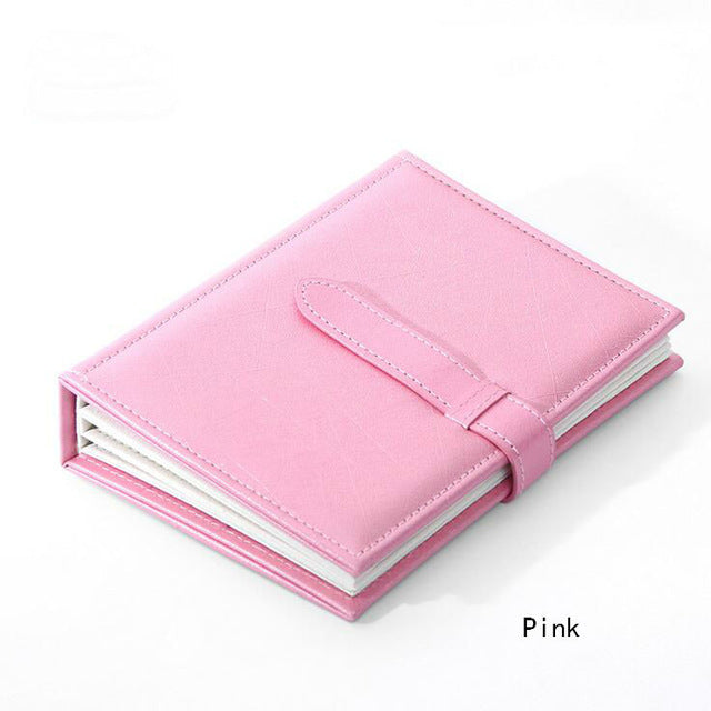 Earrings Organiser Book Style, Leather Cover