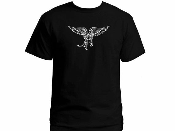 Israel army special Forces unite Ops Golani Flying Tiger graphic black t-shirt | Shop Latest Jewelry Accessories | Judelry.com