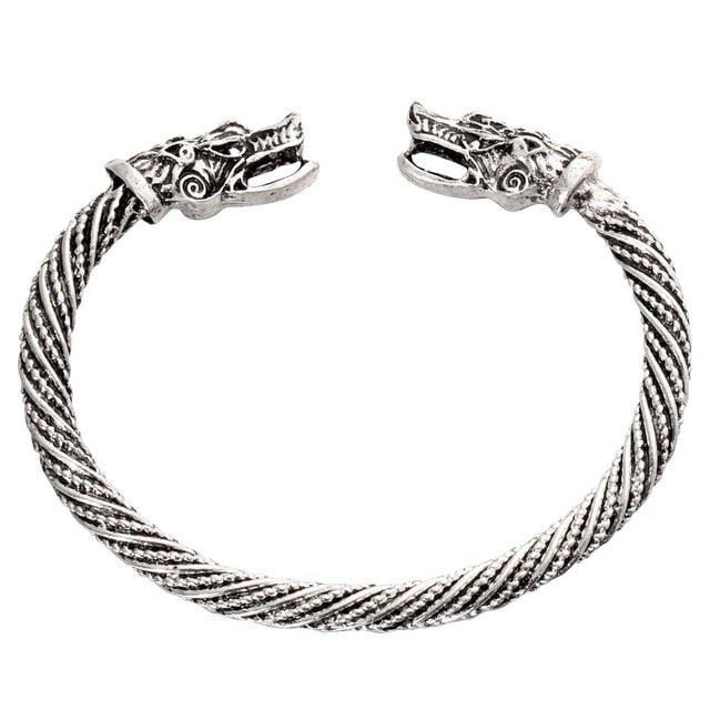 stainless steel Vintage Viking Cuff
