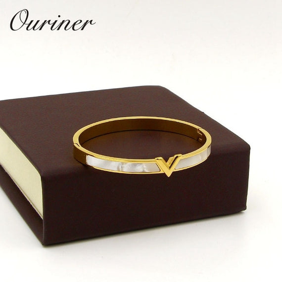 V Shape Bracelet & Bangle For Women Men Charm | Shop Latest Jewelry Accessories | Judelry.com