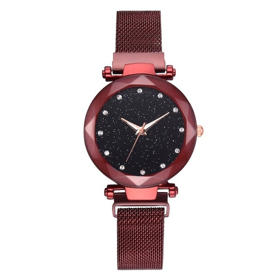 Luxury Women Watches Ladies Magnetic Starry Sky Clock Fashion Diamond Female Quartz Wristwatches relogio feminino zegarek damski | Shop Latest Jewelry Accessories | Judelry.com