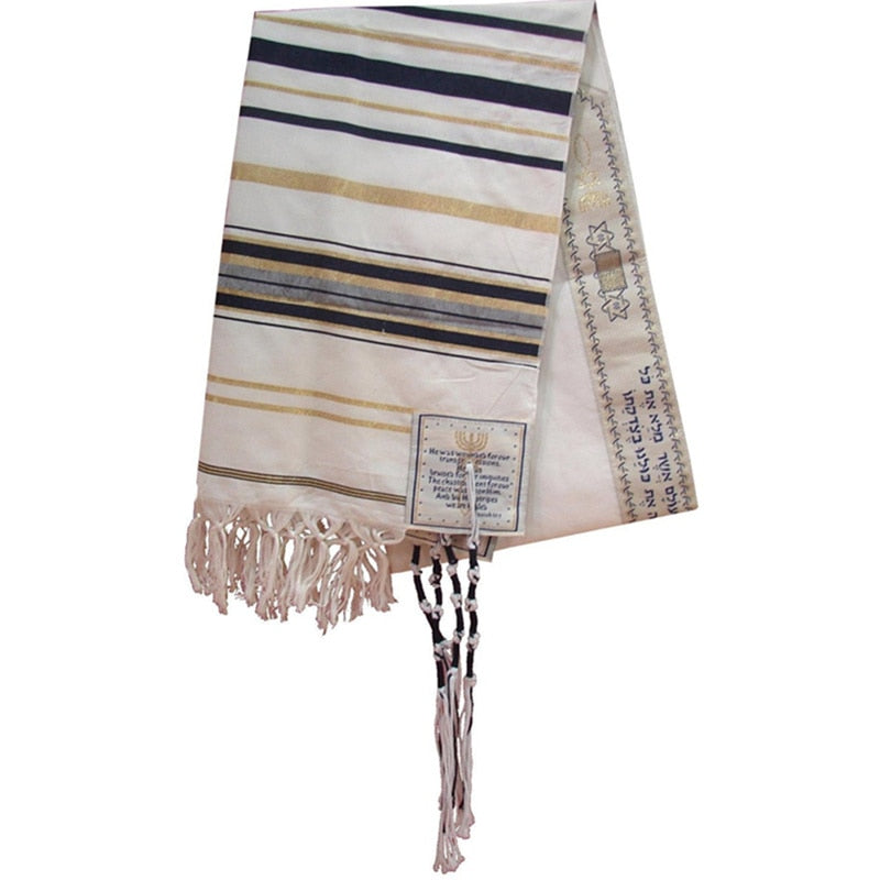 DHL FREE  JKRISING Messianic Jewish Tallit Blue and Gold Prayer Shawl Talit and Talis Bag Prayer scarfs | Shop Latest Jewelry Accessories | Judelry.com