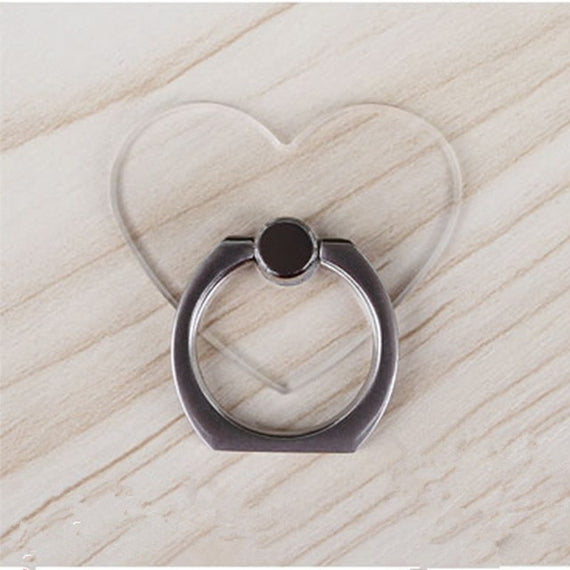 Universal Stent Mobile Phone Holder Stand Finger Ring Magnetic For cute Cell Smart Phone Transparent holder for iphone XS MAX 8 | Shop Latest Jewelry Accessories | Judelry.com