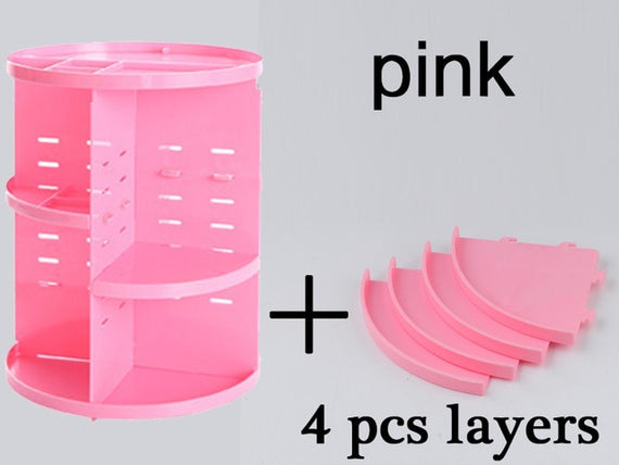 Rotating Makeup Organiser - MakeUp & Cosmetics Storage | Shop Latest Jewelry Accessories | Judelry.com