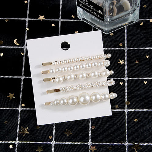 5 PCS stylish hair pins
