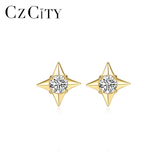 Genuine 14K Gold Star Stud Earrings for Women | Shop Latest Jewelry Accessories | Judelry.com