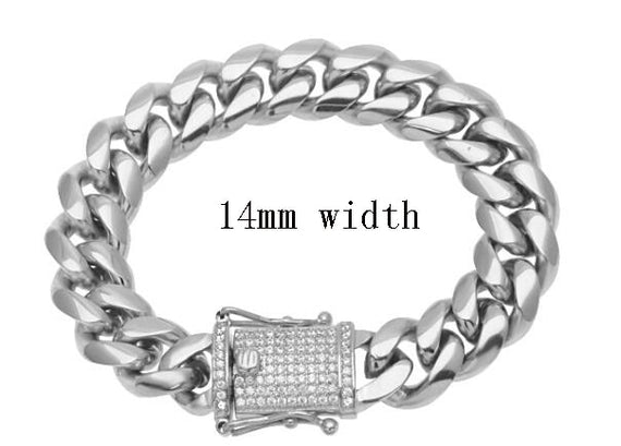 Stainless Steel Rap Style Bracelets - Gold & silver | Shop Latest Jewelry Accessories | Judelry.com