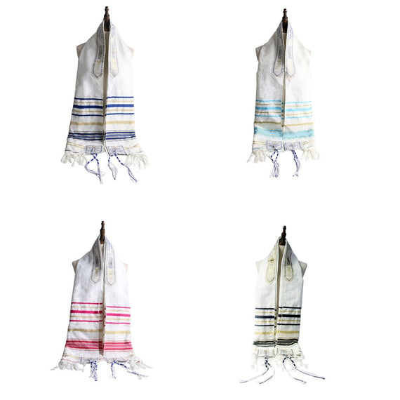 Funklouz Messianic Jewish Tallit Talit Prayer Shawl Scarf and Talis Bag | Shop Latest Jewelry Accessories | Judelry.com