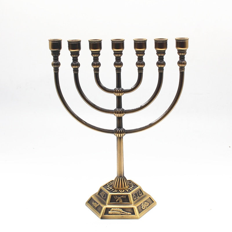 Jerusalem Menorah Religion Jewish Menorah | Shop Latest Jewelry Accessories | Judelry.com