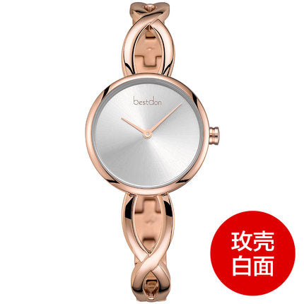 Bracelet Watch Women, Gold Bangles Design,  Rose/Gold/Silver - Waterproof