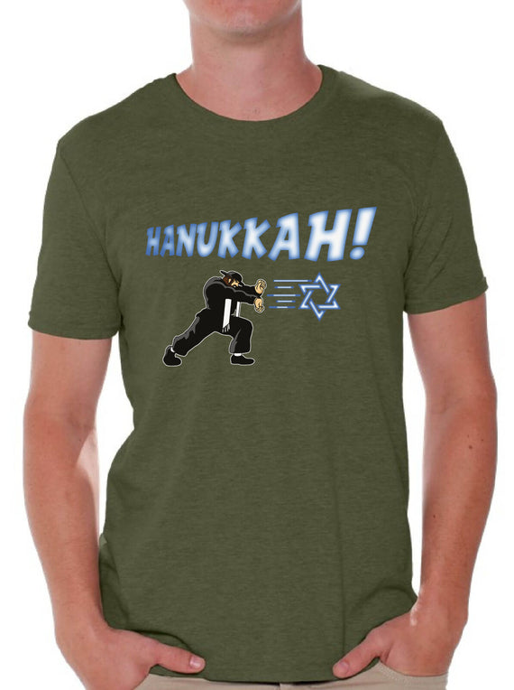Hannukah Tshirt Ugly Hanukkah T-Shirt for Men Funny Jewish Holiday Gifts for Him | Shop Latest Jewelry Accessories | Judelry.com