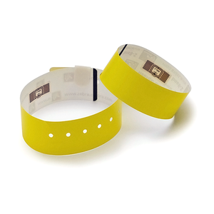 RFID Tyvek paper wristband (one time use)