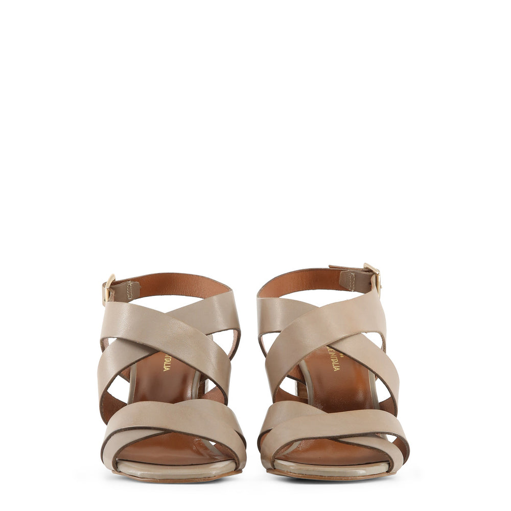 LOREDANA_TAUPE-Brown-36-Made in Italia - LOREDANA Sandal-Home > Shoes > Sandals-Made in Italia-brown-36-Faeshon.com