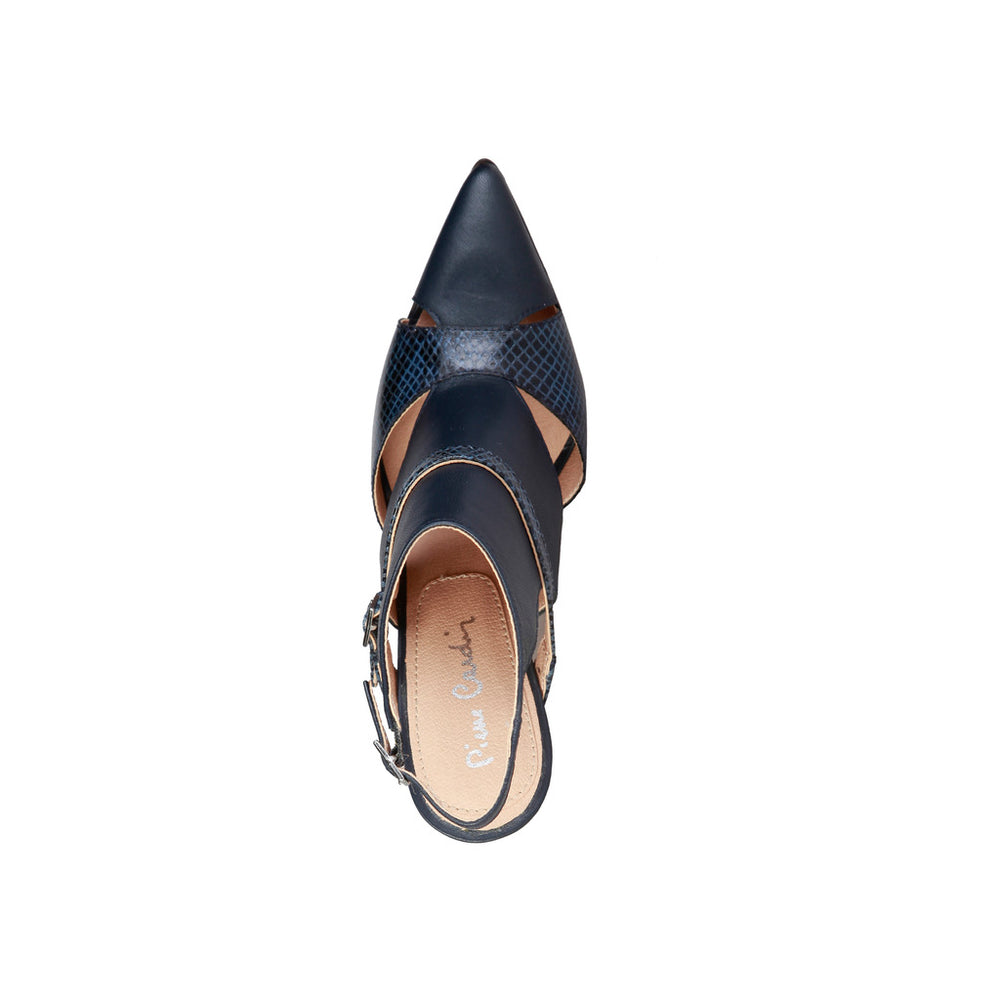 LAETITIA_NAVY-Blue-EU 37-Pierre Cardin - LAETITIA Heels-Home > Shoes > Pumps & Heels-Pierre Cardin-blue-EU 37-Faeshon.com