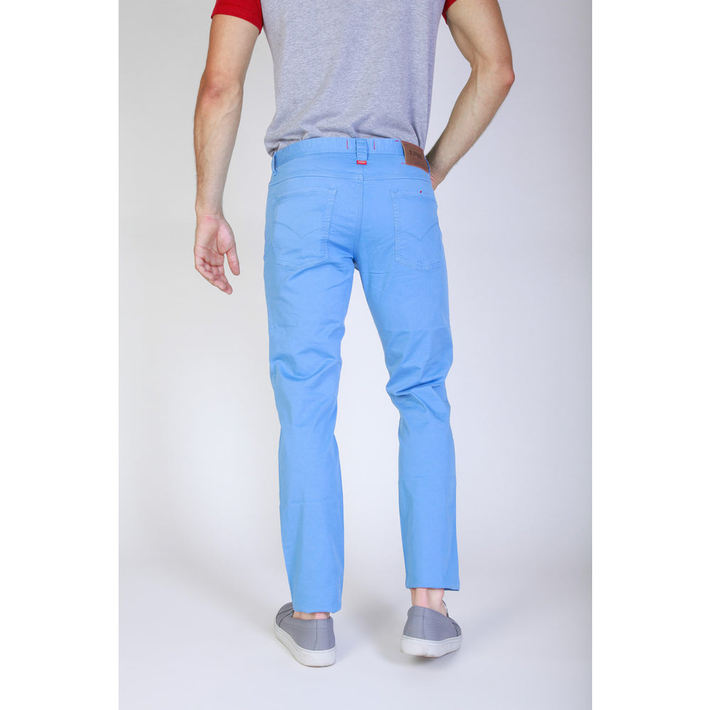J1551T812-Q1_745_CORNFLOWER-Blue-29-Jaggy Men Trouser-Home > Women's > Clothing > Trousers-Jaggy-blue-29-Faeshon.com