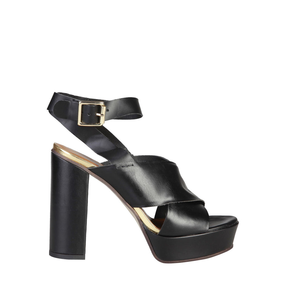 CELIE_NERO-Black-EU 36-Pierre Cardin - CELIE Sandal-Home > Shoes > Sandals-Pierre Cardin-black-EU 36-Faeshon.com