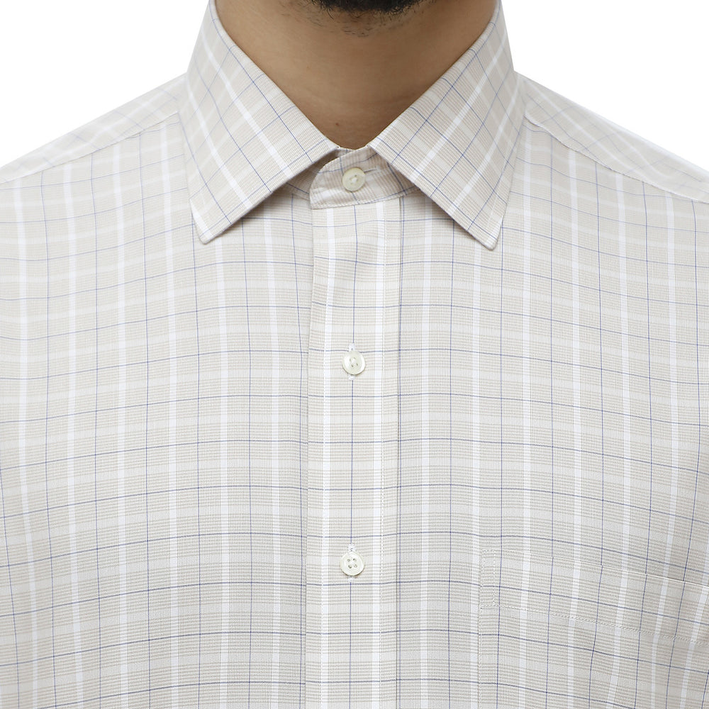 100040453_BEIGE-White-16-Brooks Brothers Shirt-Home > Men's > Clothing > Shirts-Brooks Brothers-white-16-Faeshon.com