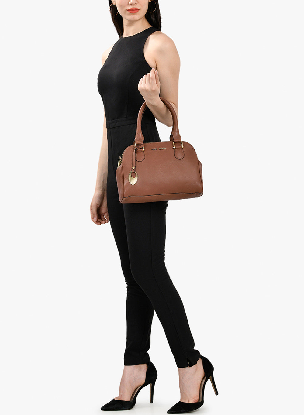 PR547-Phive Rivers Women's Leather HandBag (Tan_PR547)-Home > Bags > Handbags-Phive Rivers-Faeshon.com