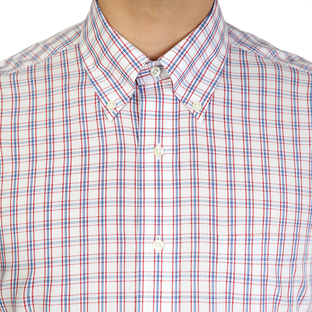 100040433_ROSSO_BLU-Red-16H-Brooks Brothers Shirt-Home > Men's > Clothing > Shirts-Brooks Brothers-red-16H-Faeshon.com