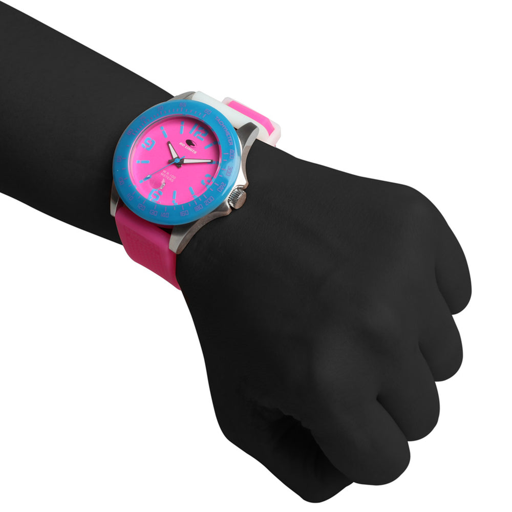 NLT30002_KAHUNA_PINK_WHITE_1001-Pink-NOSIZE-No Limits Watch-Home > Accessories > Watches-No Limits-pink-NOSIZE-Faeshon.com
